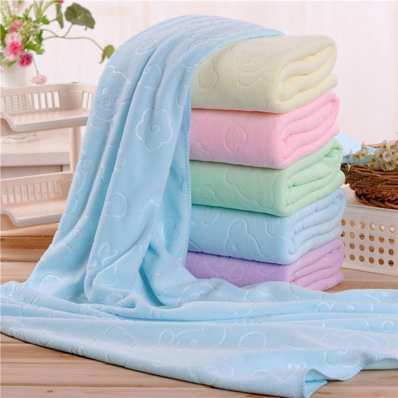 140*70cm Large Bath Towels Microfiber Fiber Water Absorbent Towel Soft Towel New