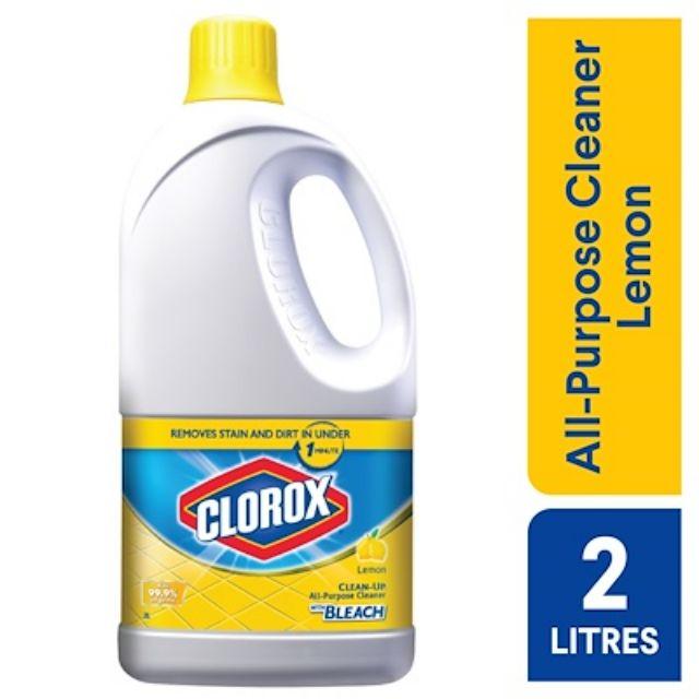 Clorox Bleach Floor Cleaner Lemon Kills 99 9 Viruses Bacterial