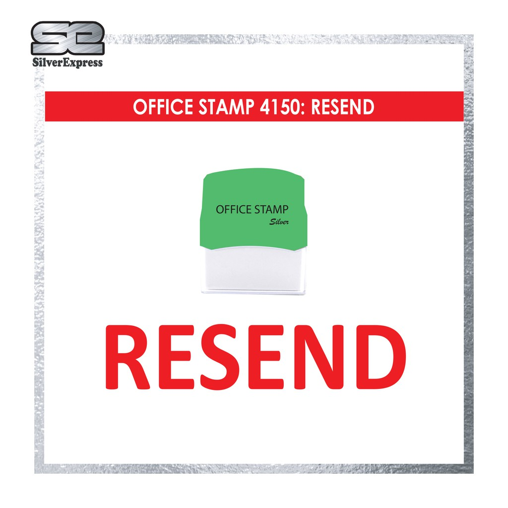OFFICE STAMP / RESEND / RECEIVED / REVISED / REDEEMED / SAMPLE / SUPERSEDED / TRIPLICATE / THIS ACCOUNT / URGENT / VOID
