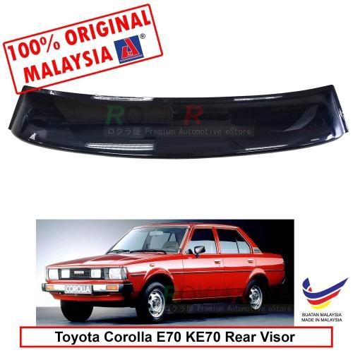 Toyota Corolla E70 KE70 (4th Gen) AG Rear Wing Spoiler Visor (Big 20cm)