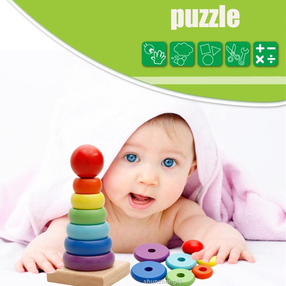 Welding & Soldering Supplies Bright Baby Childern Toys Tower Puzzle Rolling Ball Bell Stackers Toys Kids Developmental Educationsl Toy Rolling Ball For Children We Have Won Praise From Customers