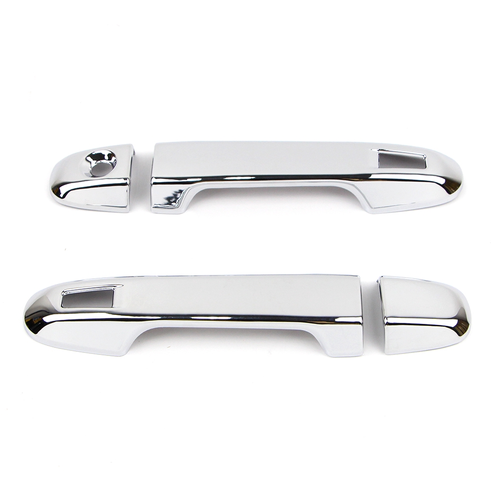 6pcs Side Door Handle Cover Strip Trim Stainless Steel For Toyota C-HR 2016-2018