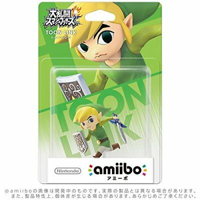 [Limited offer] Nintendo Amiibo Toon Link Super Smash Bros  Switch Wii U  figure