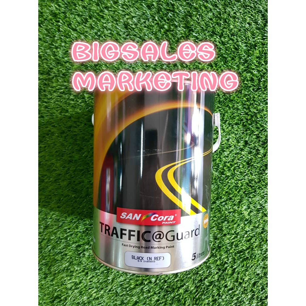 8ad73e575099 5 Litre SANCORA Traffic Guard Road Marking Paint / Cat Jalan Raya 5 Liter