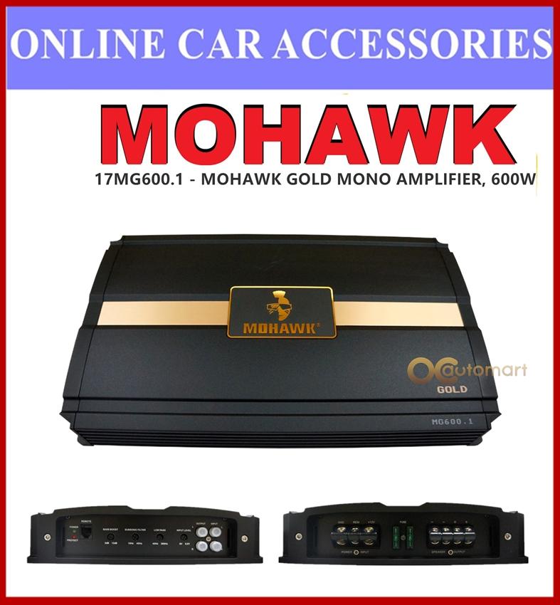 Mohawk Gold Series Monoblock Mono Block Car Amplifier Class AB 600W