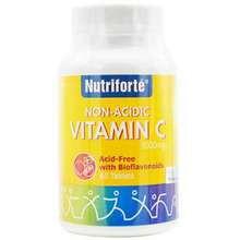 NUTRIFORTE NON-ACIDIC VITAMIN C 1000MG with BIOFLAVONOIDS 60's