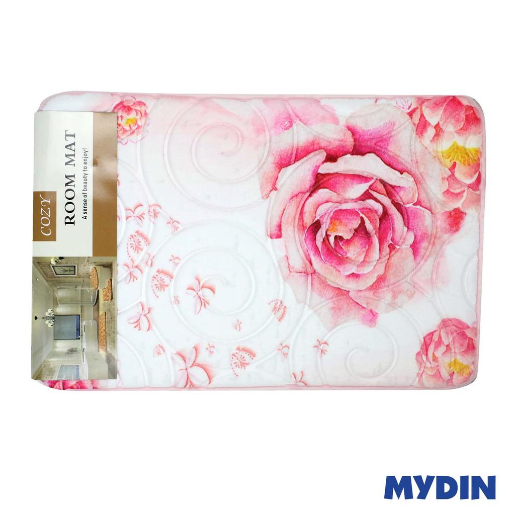 Cozy Bathroom Mat Flower 40x60cm RYL097-096