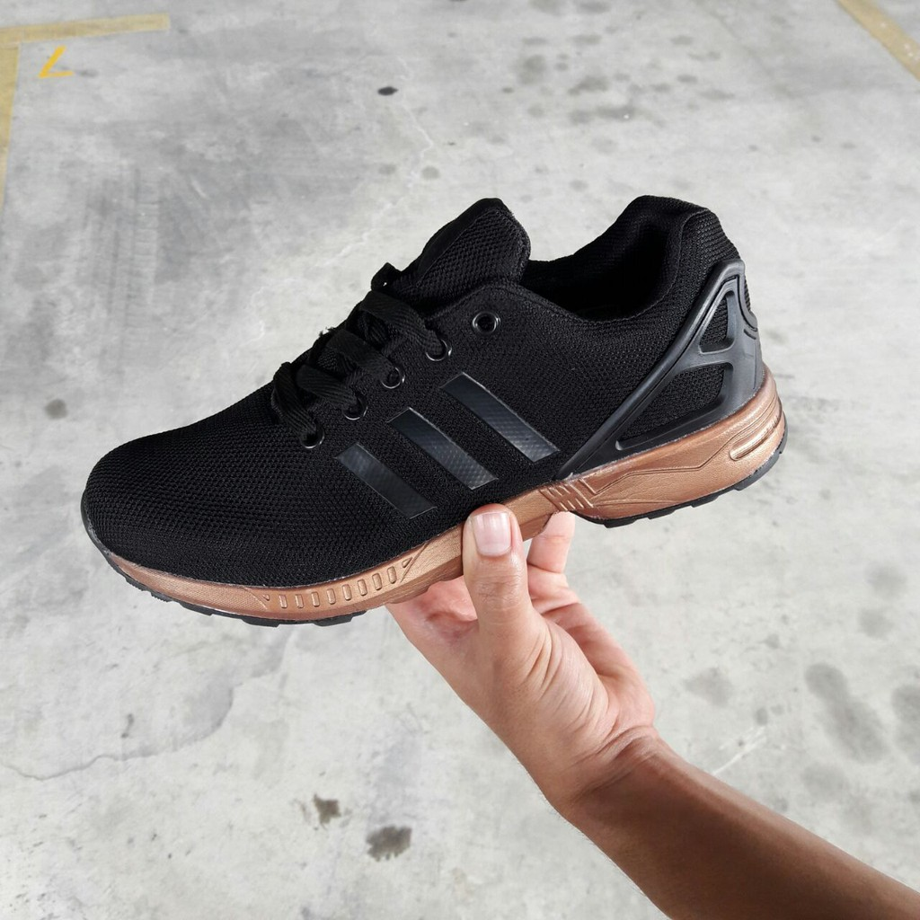best sneakers 834ff ad76e Adidas ZX Flux Black Rosegold