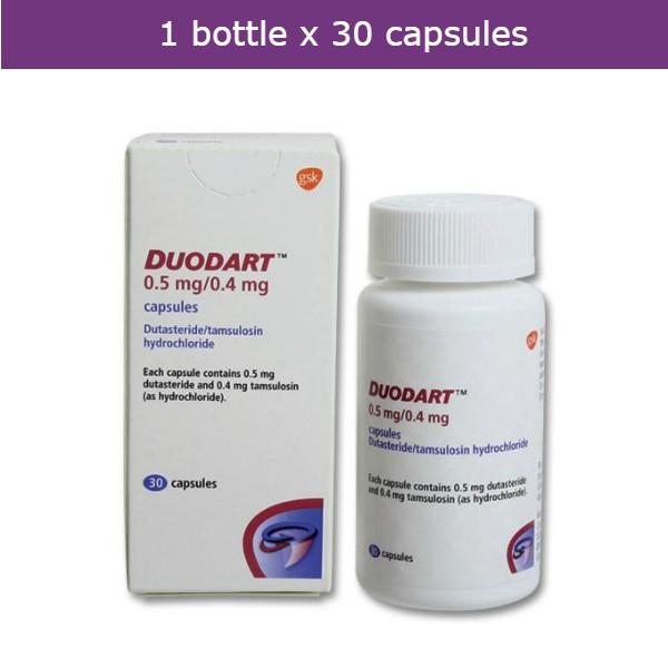 Duodart Prevents Progression Of Benign Prostate Hyperplasia Bph Shopee Malaysia