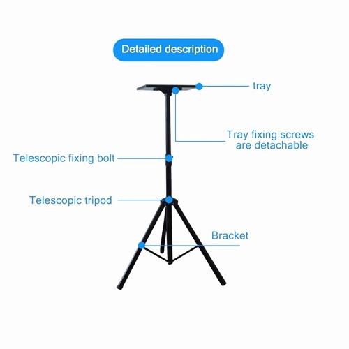 Universal 100~180cm Adjustable Projector Tripod Floor Stand - 60kg Max Load