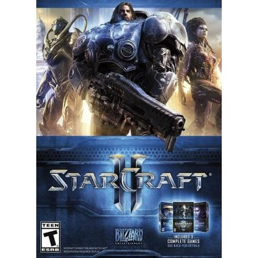 Starcraft II 2 Campaign Collection PC Game Blizzard Platform