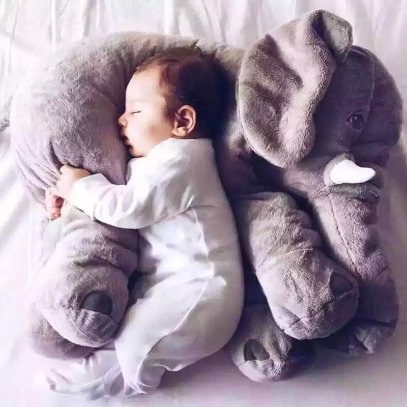Infant Soft Appease Elephant Playmate Calm Doll Baby Toys Elephant Pillow  Plush c87c49bbd
