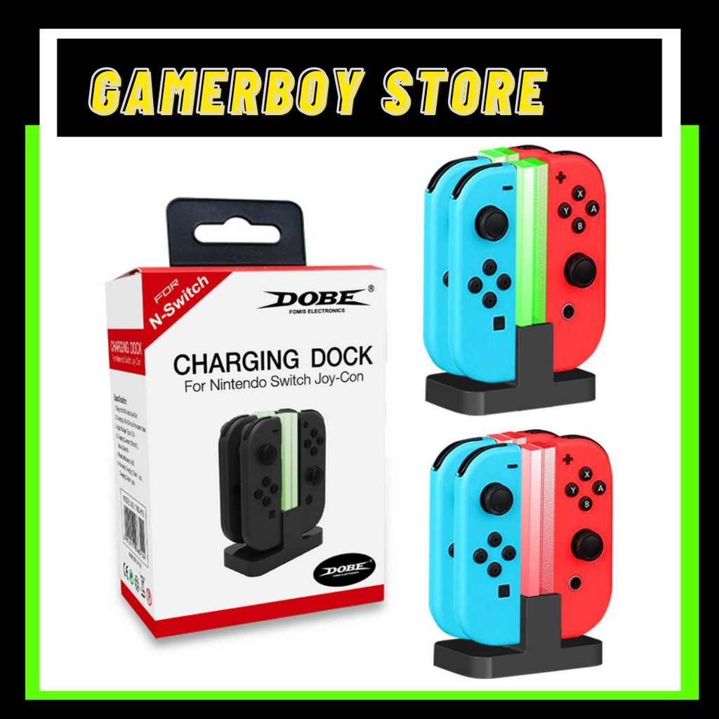 DOBE TNS 875 Joy-Con Charging Dock for Nintendo Switch