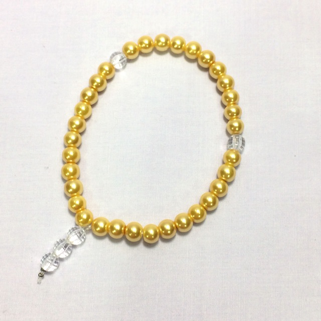 Tasbih Mutiara (Light Gold)