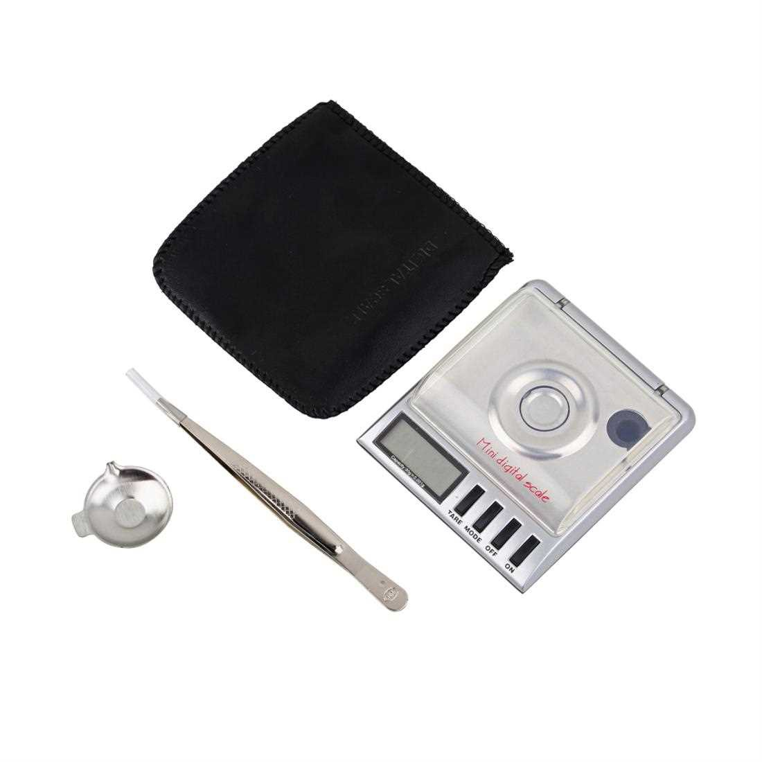 Pocket 30g x 0.001g Mini Digital Jewelry Diamond Gold Gram Weight Scale (Silver)