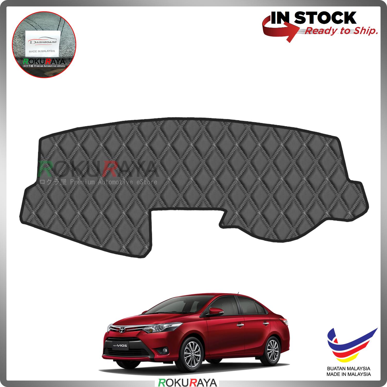 Toyota Vios XP150 (3rd Gen) 2013-2018 RR Malaysia Custom Fit Dashboard Cover (BLACK LINE)