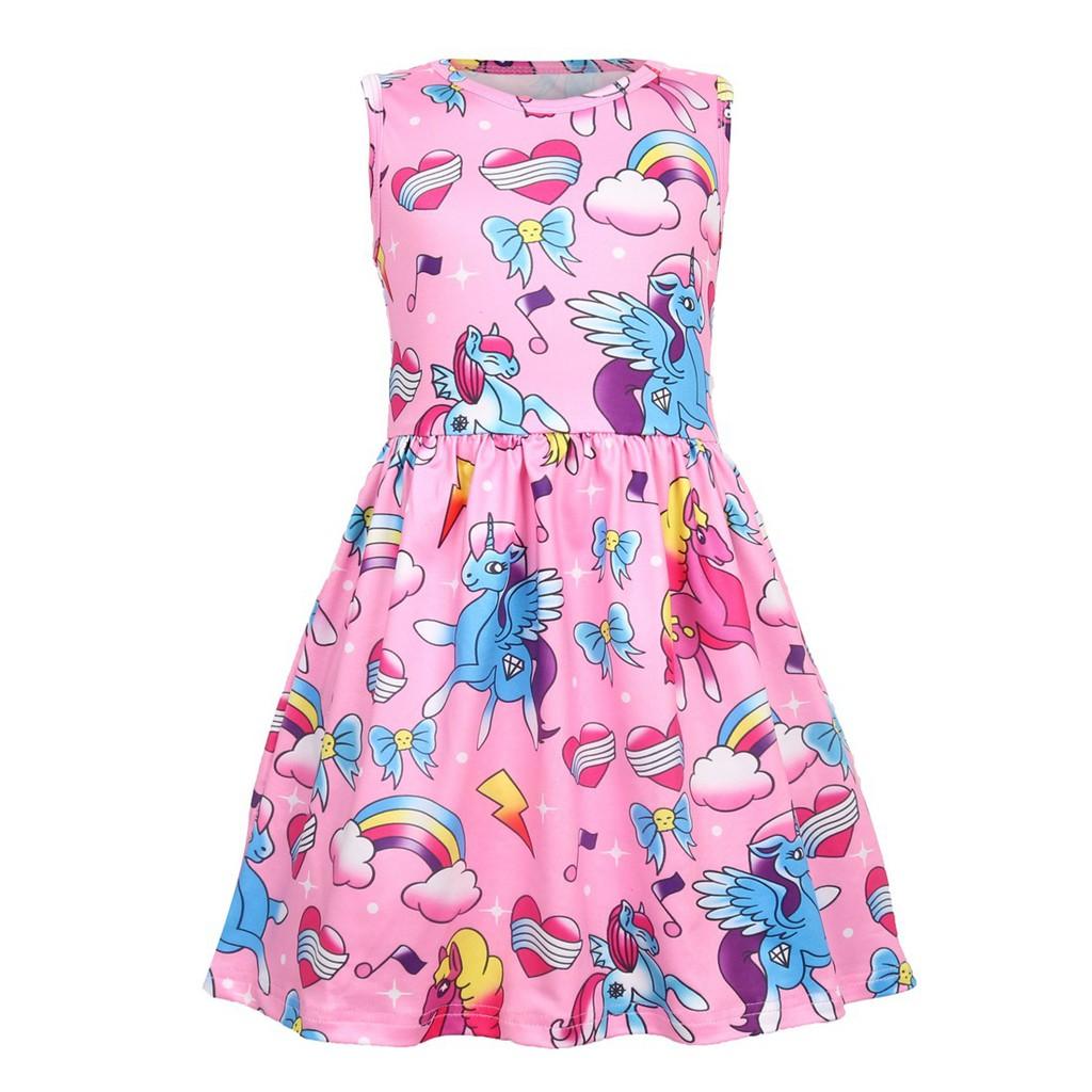 Colourful Unicorn Dress
