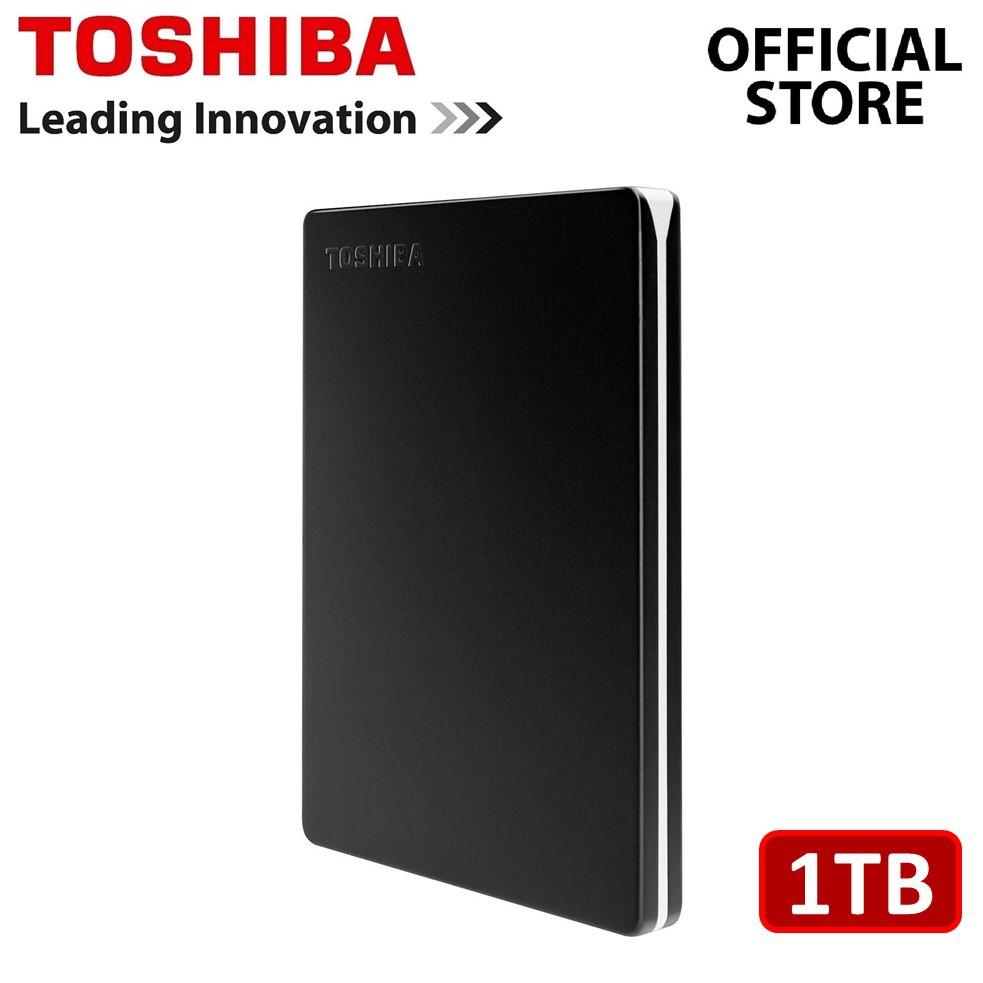 Toshiba Canvio Slim III USB3.0 Portable Hard Drive External Hard Disk [1TB]