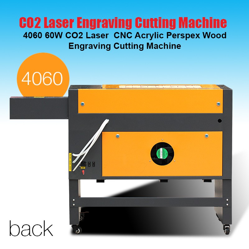 4060 CO2 laser engraving cutting cnc machine wood acrylic