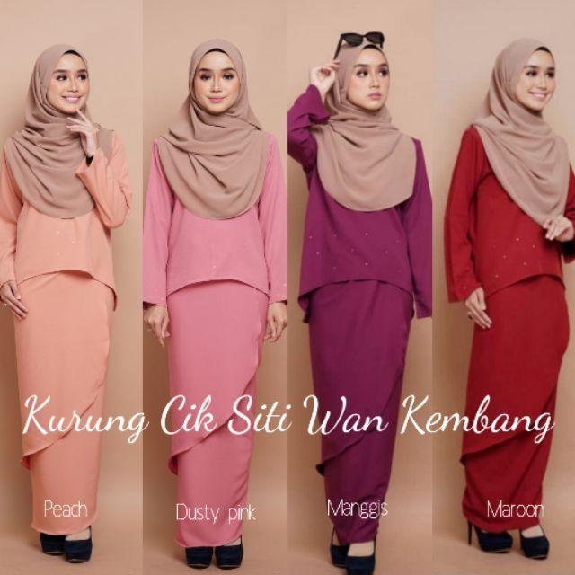 Baju Kurung Cik Siti Wan Kembang Shopee Malaysia