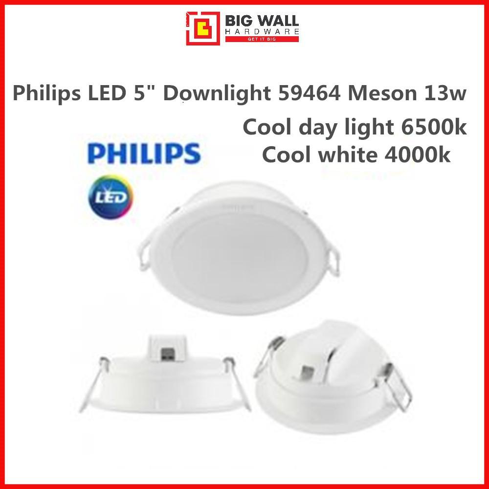 "New Model Philips LED 5"" Downlight 59464 Meson 13w Energy-saving Lampu Siling Model Baru"