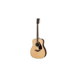 Yamaha FG830 41 Dreadnought Solid Sitka Spruce Top Acoustic Guitar Natural (FG 830)