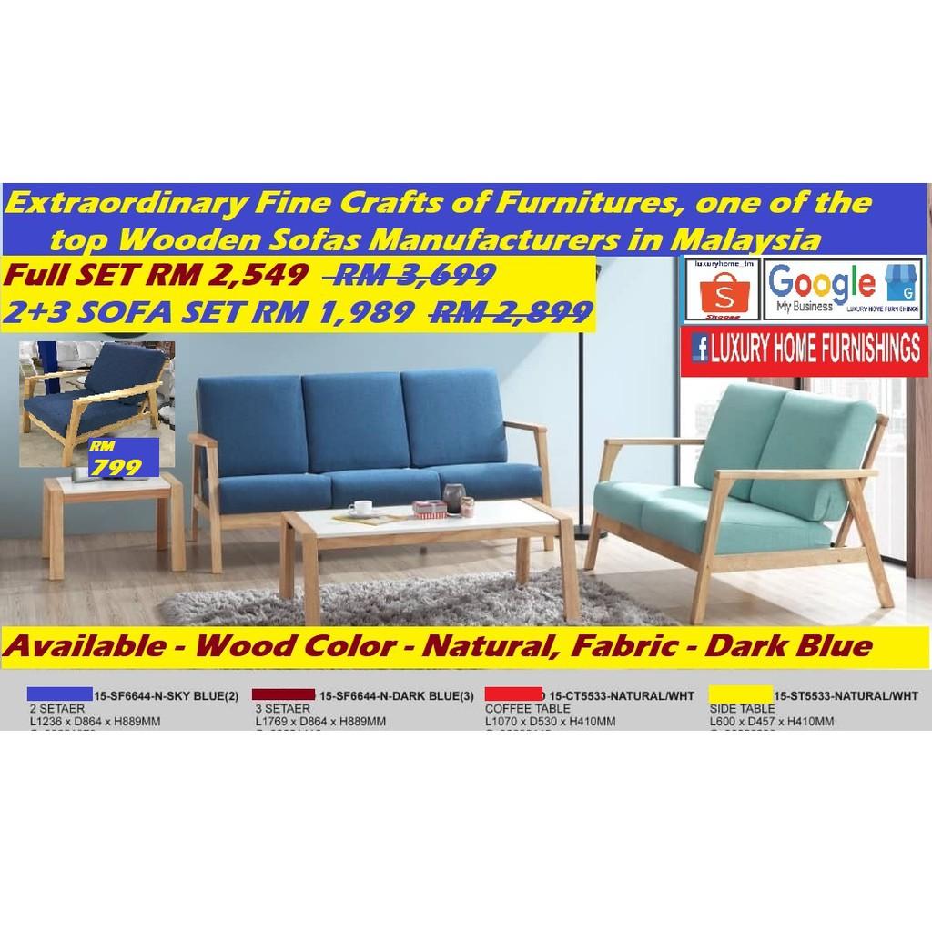 SOFA SET, 2+3, extra ordinary fine crafts of furniture
