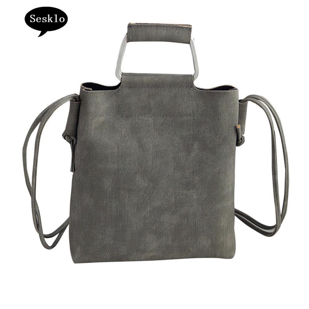 Fashion Women Leather Shoulders Bags Tote Purse Crossbody Messengers Handbag S/&K