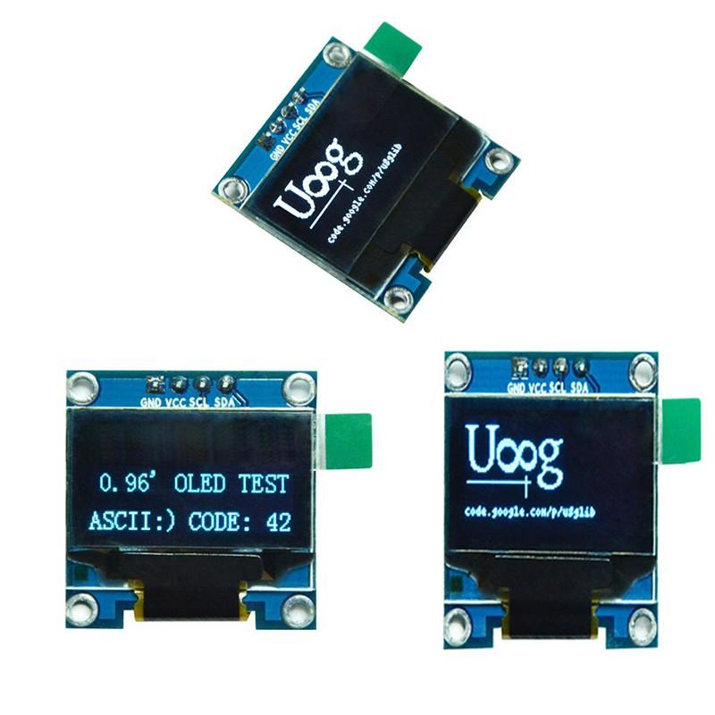 0 96in I2C IIC Serial 128X64 OLED LCD LED Display Module SSD1306 For  Arduino Whi