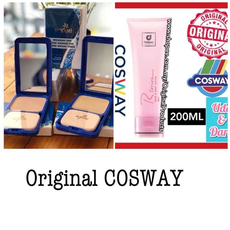 Original HQ™ Cosway Bedak Padat Miyami & Cosway Designer Collection R Series Hand