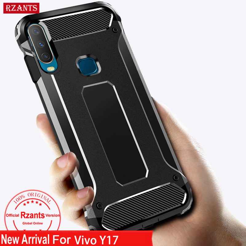 VIVO Y17 / Y15 / Y12 Case Carbon Fiber Hard PC Back Phone Casing  Anti-Scratch Slim Thin Cover
