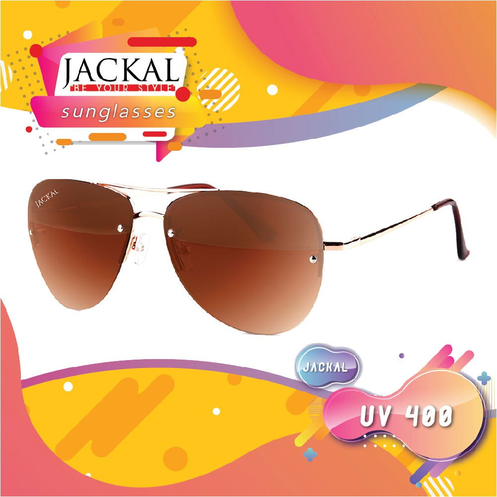 JACKAL SUNGLASSES แว่นตากันแดด รุ่น SHIPMASTER II JS177