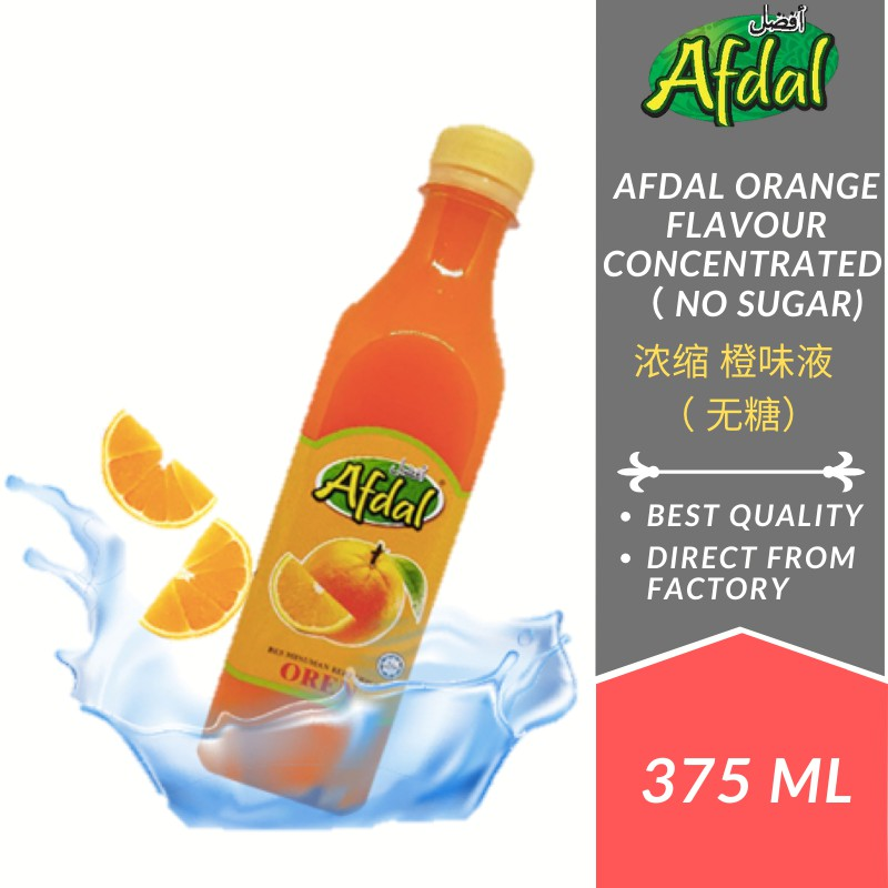 Afdal Oren Flavoured Concentrate 375ML