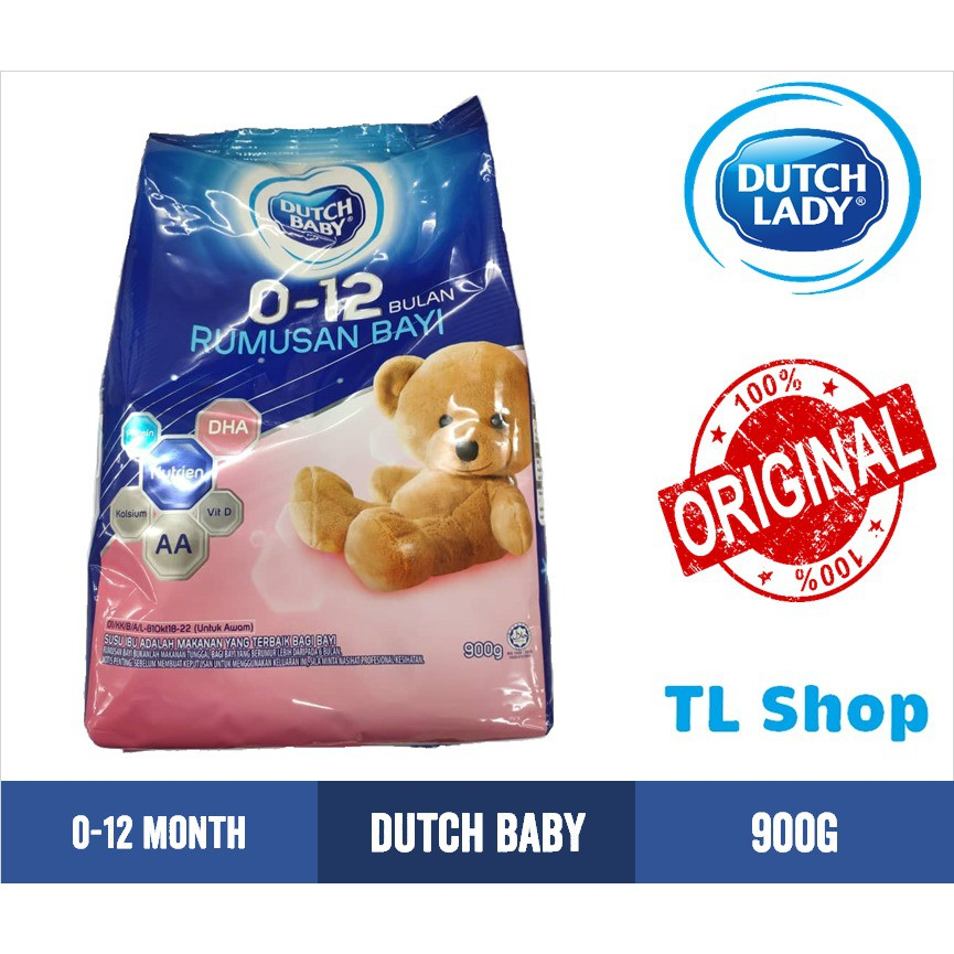 Dutch Baby 0-12 Month Milk Powder 900g   Shopee Malaysia