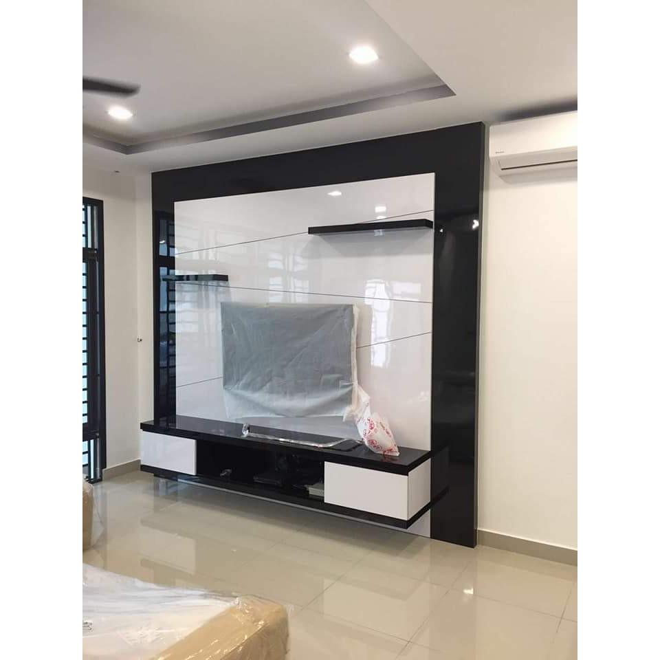 Custom Made All Kind Material Kitchen Cabinet Melamine 3g 4g 5g Aluminium Plywood Laminate Nyatoh Paint Co Shopee Malaysia