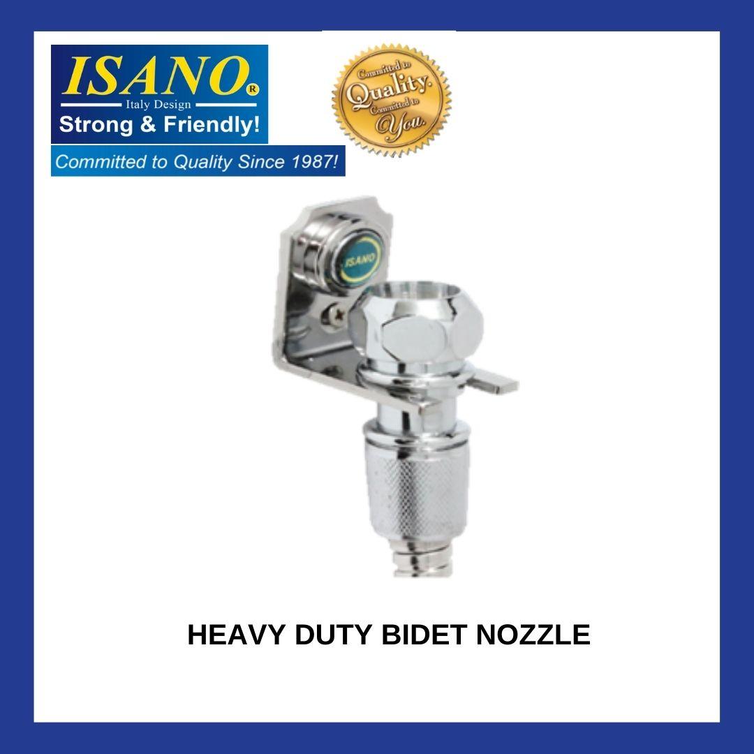 ISANO Heavy Duty Bidet Nozzle Chrome 1740BK