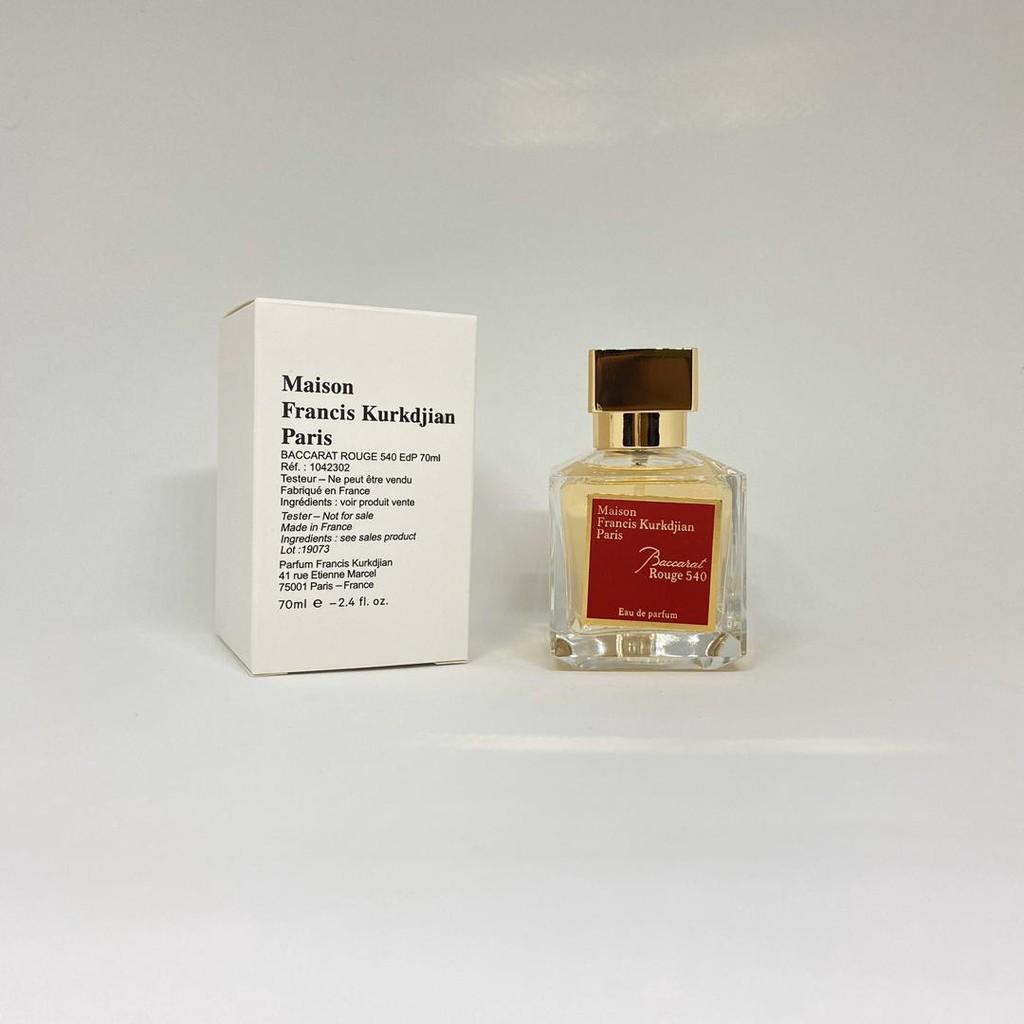 Original Maison Francis Kurkdjian Baccarat Rouge 540 Eau De Parfum For Women 70ml Tester Shopee Malaysia