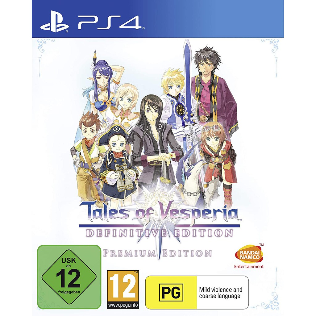 PS4 Tales of Vesperia Definitive Edition: Premium Edition (R3/ENG)