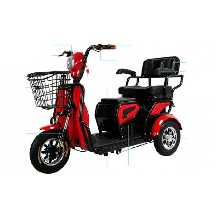 Eco Three Wheel Electric Scooter Oku Electric Scooter Shopee Malaysia
