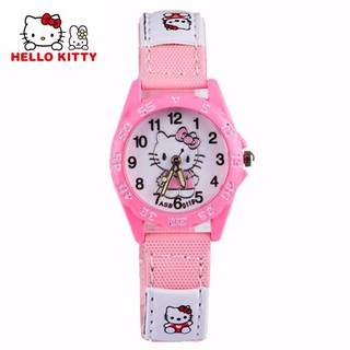 22ef7d808 Cartoon Hello Kitty Pink Watch Girl Hours Children Baby Gift Women Dress  Watch | Shopee Malaysia