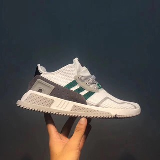 check out 5fbf2 f1af3 2017 adidas EQT cushion adv running shoes woman trainning shoes white green    Shopee Malaysia