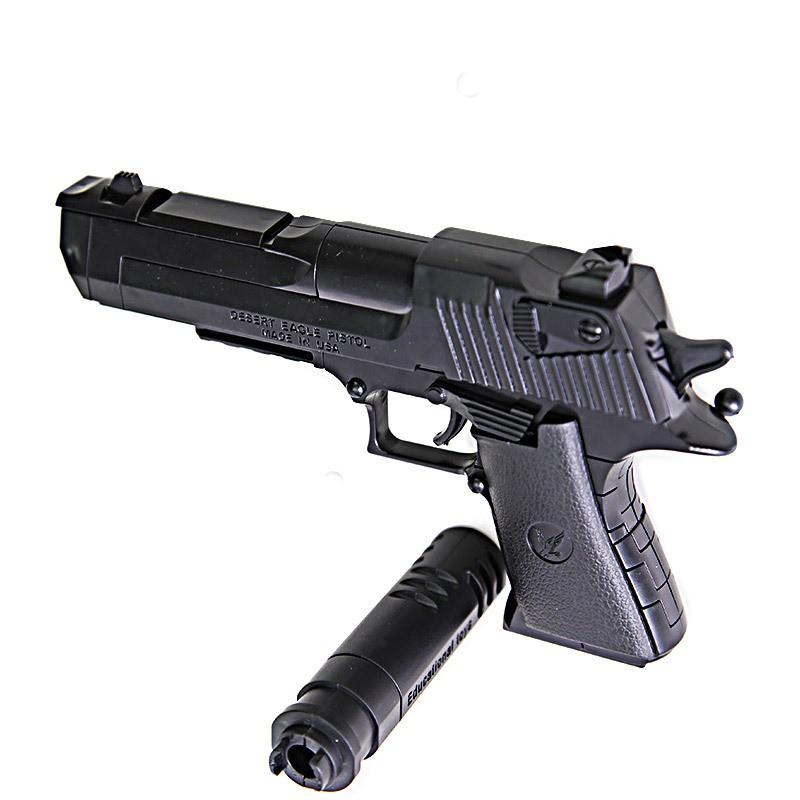 Toy Gun Model Puzzle Building Desert Eagle Pistol Assembling Kids Gift Game