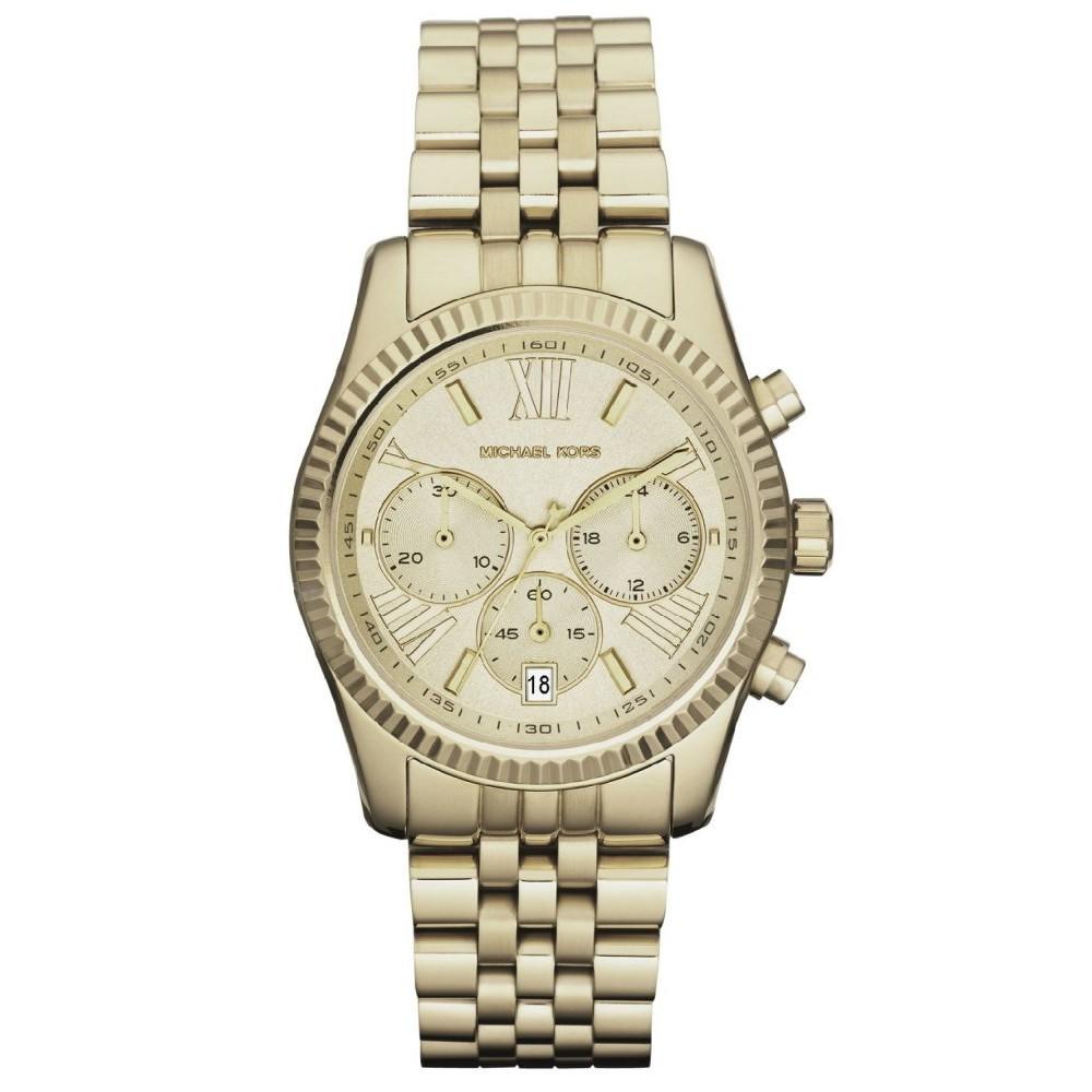 e5f25c2f55fa MICHAEL KORS Ladies MK3295 Mini Darci Gold-tone Stainless Steel Watch