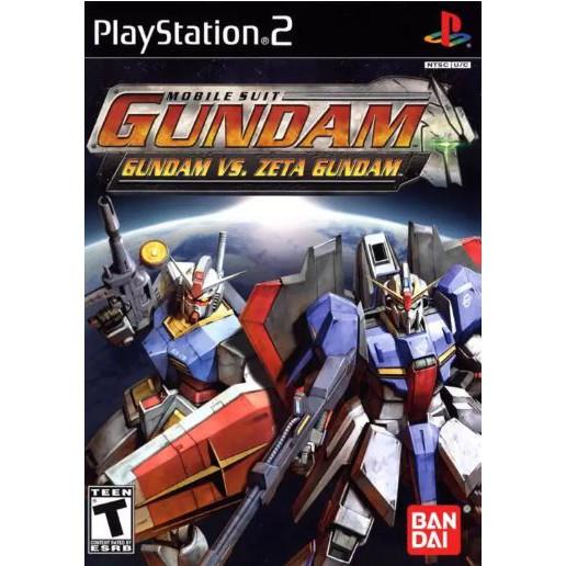 Kidou Senshi Gundam Gundam vs Z Gundam PS2 Playstation 2 Games