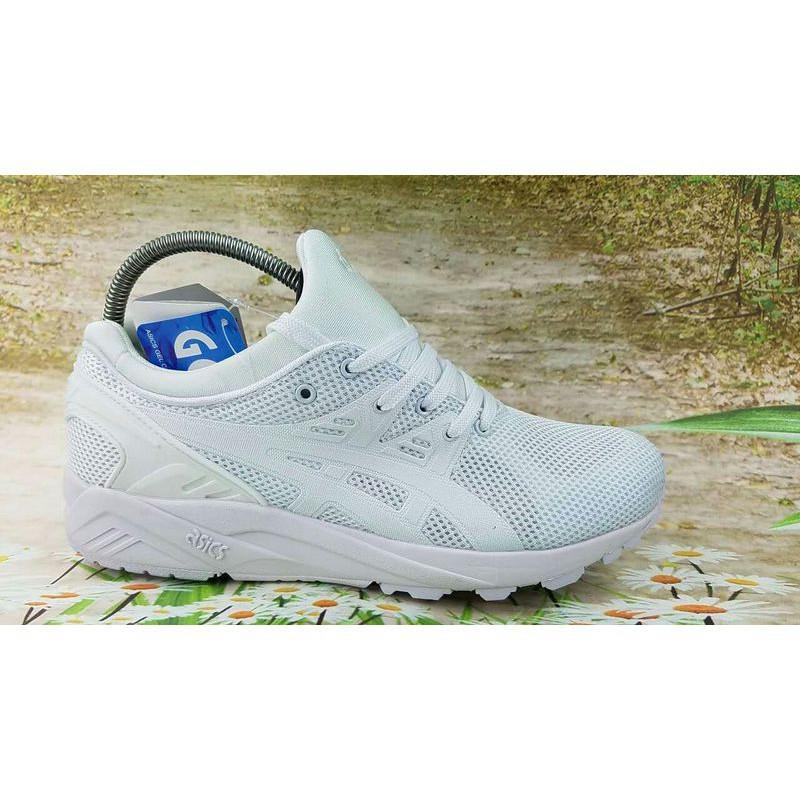 big sale 3609e f5e8c Original Original Asics Gel Lyte V III all white men women sports running  shoes 36-44
