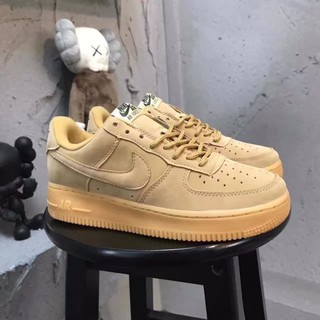 bd031b37 wldm stock Size:36-44 Nike Air Force 1 Wheat GS low AF1 Leather | Shopee  Malaysia