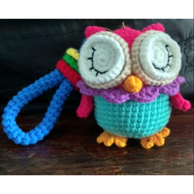 Ravelry: Baby Owl Ornaments pattern by Josephine Wu | 640x640