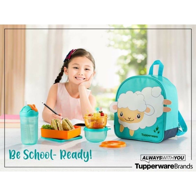 READY STOCK Tupperware Back To School Set
