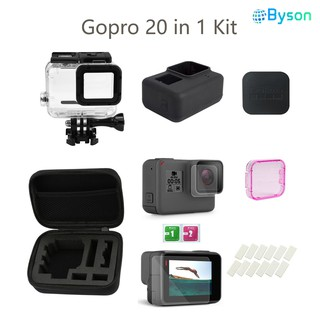 8 in 1 Gopro Accessories Kits Action Camera Sport Kit for Gopro Hero