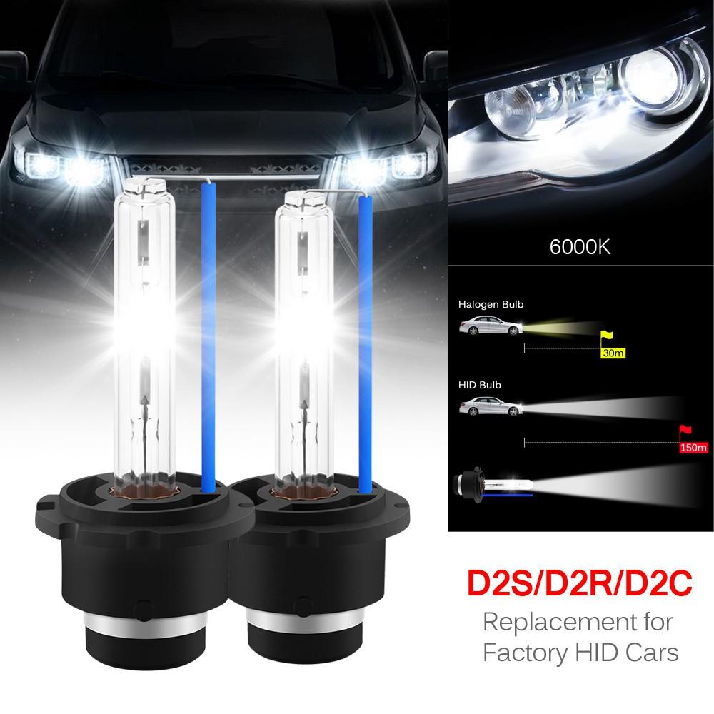 2 X 35W D1S// HID Xenon Bulb Car Headlamp Head Light Lamp 6000K White New 2 X 35W